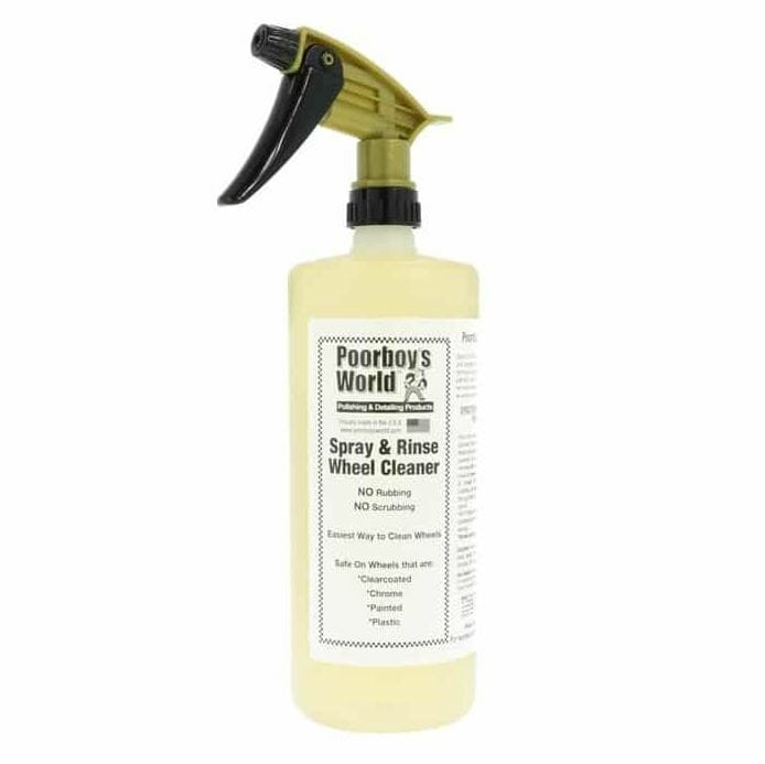 Poorboys Spray and Rinse Wheel Cleaner