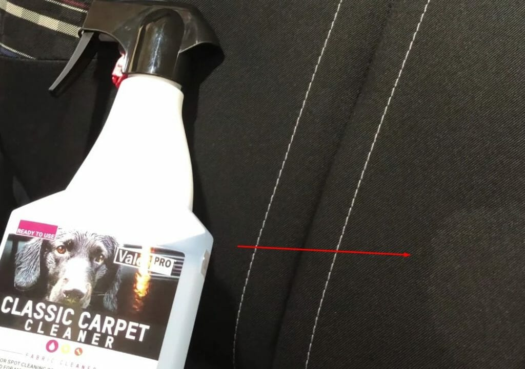 ValetPRO Classic Carpet Cleaner og plet